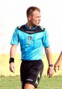 Juve Stabia-Paganese arbitra Francesco Meraviglia di Pistoia