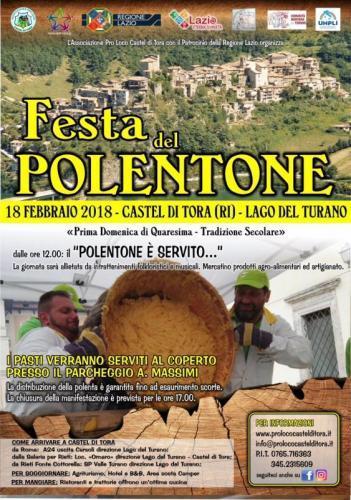 Sagra Del Polentone - Castel Di Tora
