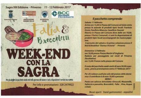 Sagra Falia E Broccoletti - Priverno
