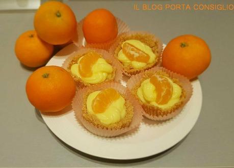 cestini crema e mandarini