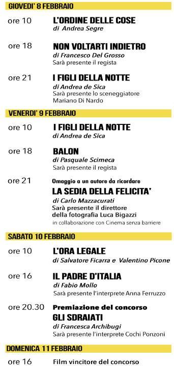 IL CINEMA ITALIANO, 13° Festival a COMO, dal 3 all' 11 febbraio 2018 al cinema ASTRA