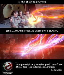 Ghostbusters Italia Fan Film - Ecco Una Nuova Foto Inedita