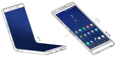 Samsung pronta a rivoluzionare il 2018 con gli smartphone con display flessibili