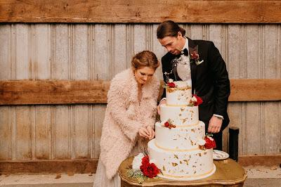 Anna & Ian's wedding cake topper: fly away with me