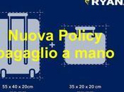 Nuove regole bagaglio mano Ryanair: Addio trolley gratis cabina
