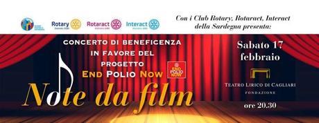 """""""Note da film"""" col Quintetto Sardò contro la poliomielite"""