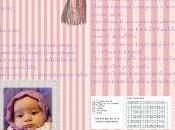 QUELLA CASA NELLA PRATERIA...ovvero cuffietta retrò neonata.