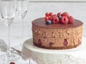Mousse-Cake cioccolato frutti bosco