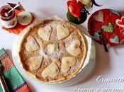 Crostata crema marmellata