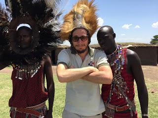 Diario africano - 70/A casa dei Masai
