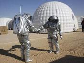 Prove tecniche sbarco Marte deserto dell'Oman