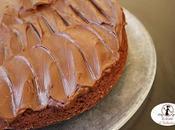 Torta cioccolato senza uova ganache, cotta nella friggitrice aria