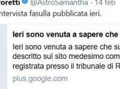 Samantha Cristoforetti blasta gente