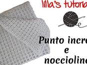 Copertina neonato crochet INCROCI NOCCIOLINE, video tutorial punto