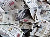 giornale invenduto, giorno dopo incarta pesce solo