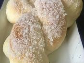 treccina: brioche siciliana zucchero semolato (senza uova)