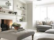 Sfumature grigio elegante cottage inglese