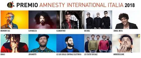 Quale sarà la canzone dell'anno sui diritti umani?