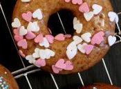 Donuts speziati glassa allo sciroppo d'acero
