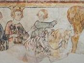 """""""Carlo Magno alla guerra pitture Castello Cruet Medioevo cavalleresco Italia Francia"""", marzo luglio Torino"""