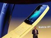 "Nokia rilancia storico 8110, ""banana phone"" Matrix"