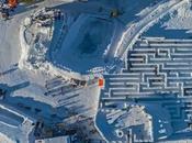 Benvenuti Snowlandia, grande labirinto neve mondo