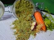 Dado vegetale granulare Fatto solo scarti della verdura
