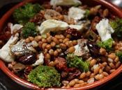 Insalata farro invernale sardine Anzio broccoletti