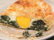 Ricette gustose, veloci appetitose menù Pasqua: torta pasqualina, classico.