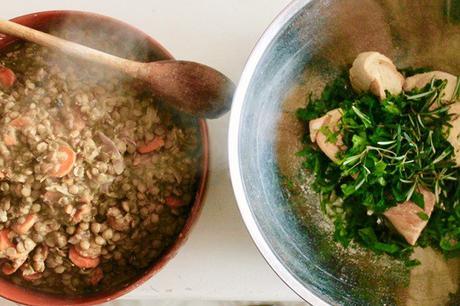 lenticchie per arrosto vegetariano