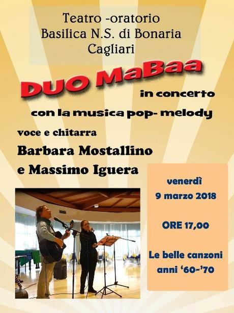 Duo MaBaa in concerto pop-melody