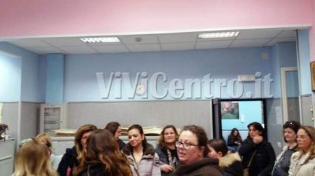 FOTO ViViCentro – Castellammare, disagi e file interminabili all'Ufficio vaccini