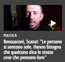 Emergenza mediatica epocale – Abbiamo perso anche l'analista Scanzi attualmente, sembrerebbe, dall'analista…