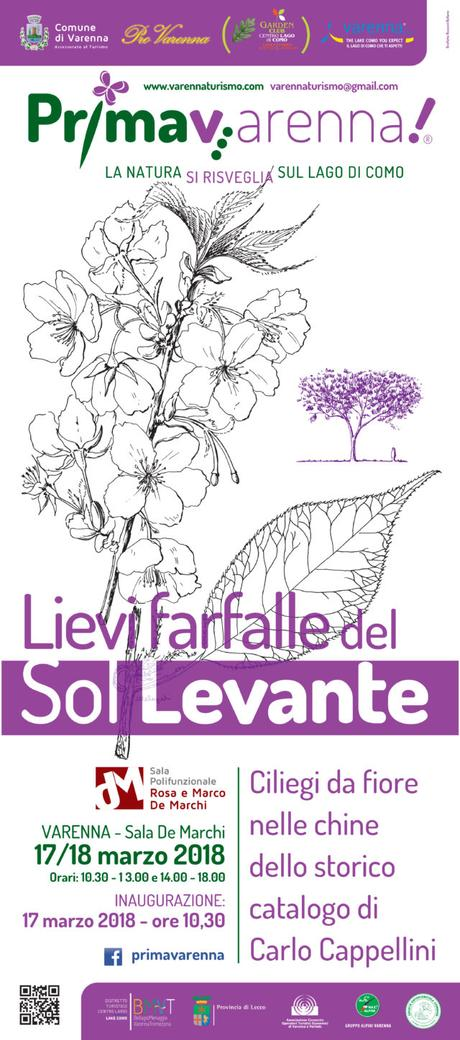 """PRIMAV…ARENNA!  """"La Natura si risveglia sul Lago di Como""""  V EDIZIONE 17-18 marzo 2018"""