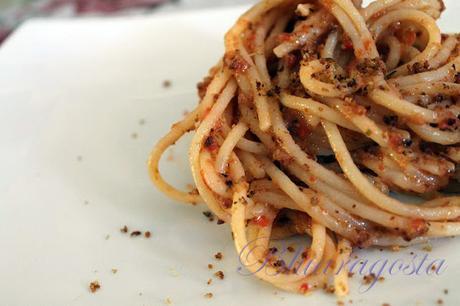spaghetti con molliche