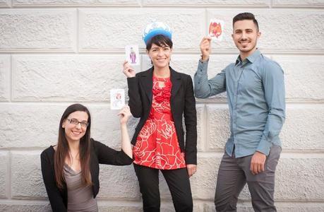 Il team di Little Alienz: Valentina Bellotti, Sarah Pinna e Mauro Cuccu