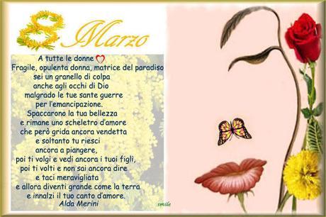 8 marzo Auguri a tutte le donne
