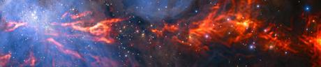 Alma nella rete di un'incubatrice stellare