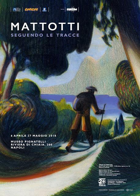 Comicon: la mostra dedicata a Lorenzo Mattotti