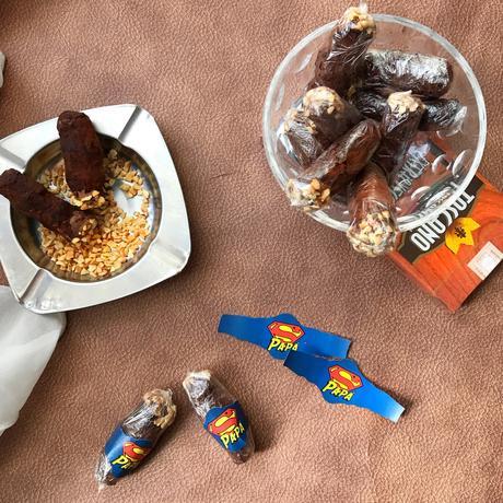 Sigari di cioccolato per la festa del papà