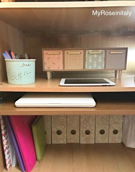 Small spaces: home office cabinet