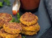Crocchette amaranto zucca pomodori secchi