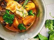 Padellaccia sogliola umido patate, cimette broccolo olive taggiasche