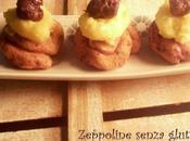 Zeppoline senza glutine calendario cibo italiano