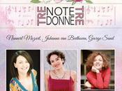 """""""Tre note, donne"""" Roma marzo"""
