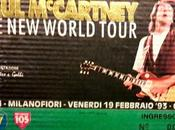 Quel concerto Paul McCartney insieme Fabrizio Frizzi