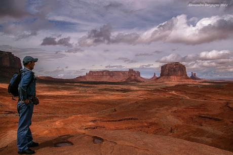 Monument Valley, il West