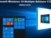 Download Windows Gratis: Multiple Edition 1709 MARZO 2018