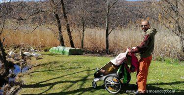 Passeggiata sulla ciclovia del lago Segrino