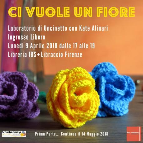 I Lunedì in libreria a Firenze – Laboratori di uncinetto gratuiti